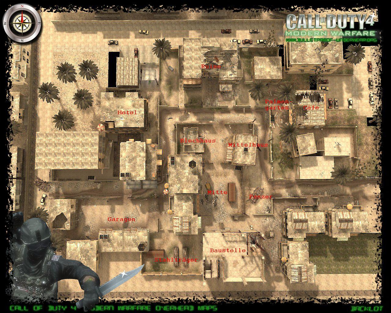 Call of Duty 4 Taktik Maps | UW-Gaming.de - United Warriors Gaming Call Of Duty Maps on